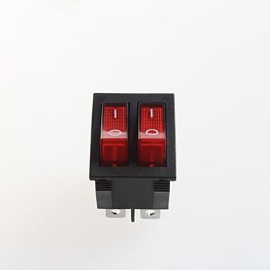 olcso Kapcsolók-duplán hat láb rocker switch (2db)