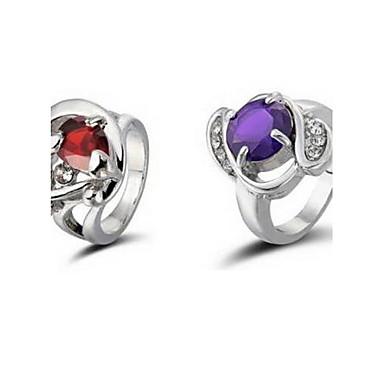 رخيصةأون أقراط-للمرأة متعدد الحجر سبيكة دائري مجوهرات مجوهرات