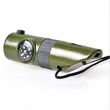 olcso Túlélőkészletek-Survival Whistle Multi Function / Túlélés / Sürgősségi Túrázás ABS Zöld