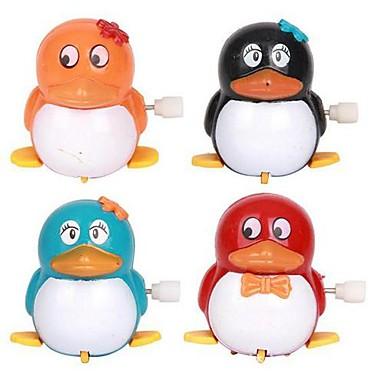 olcso Felhúzós játékok-séta a pingvin Clockwork gyermekjátékok (színes random)