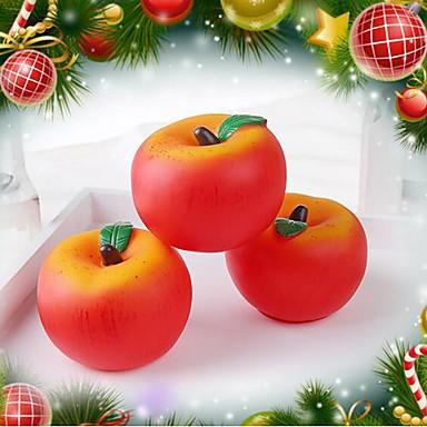 olcso Karácsonyi világítás-Karácsonyi kellékek gradiens alma színes LED-es éjszakai fény színes rajz vagy minta
