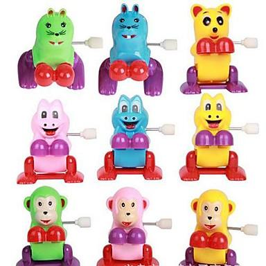 olcso Felhúzós játékok-Átugrani állat óramű gyermekjátékok (színes random)