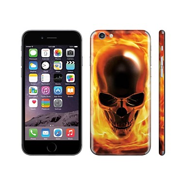 skinat adhesivo DIY para el iphone 6 (ocultar el logotipo) de vuelta ...