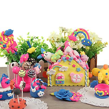 olcso gyurma-kk nyúl 24 színű gyurma mágneses gyermekek oktatási játékok (rózsaszín)