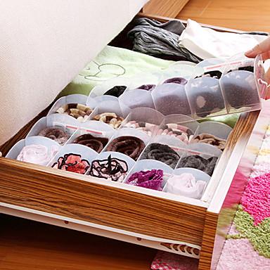 plastique ouvert accueil organisation 1set bo te de. Black Bedroom Furniture Sets. Home Design Ideas