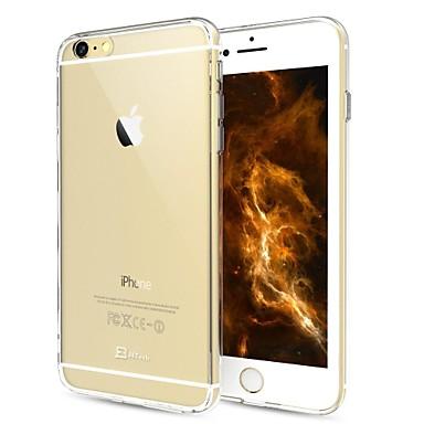 Недорогие Кейсы для iPhone 6 Plus-Кейс для Назначение Apple iPhone 6s Plus / iPhone 6s / iPhone 6 Plus Прозрачный Кейс на заднюю панель Однотонный Твердый ПК