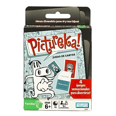 Hasbro Games Pictureka Card Game 2234611 2018 28 79
