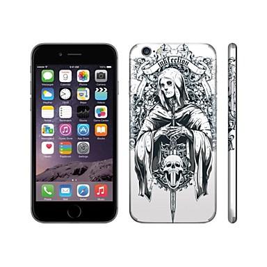 Skinat 3m soft skin for iphone 6 plushide logo sticker back decals sticker set woman skull mobile phone stickers 2229721 2018 22 99
