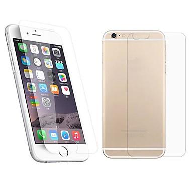 AppleScreen ProtectoriPhone 6s 2.5D Muchie Curbată Ecran Protecție Față & Spate 1 piesă Sticlă securizată / iPhone 6s Plus / 6 Plus