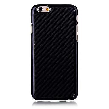 Maska Pentru Apple iPhone 6s Plus / iPhone 6s / iPhone 6 Plus Capac Spate Mată Greu Fibra de carbon