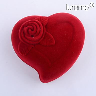 olcso Ékszer csomagolás és kiállítás-Rózsák Ékszerdobozok - divatba jövő Piros 5.5 cm 4 cm 4 cm / Női