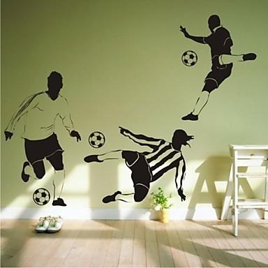 autocolante de perete decalcomanii de perete, pantofi de fotbal contemporan de fotbal 1pc