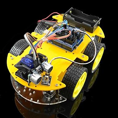 olcso KIT-bluetooth vezérelt robot autós szett Arduino
