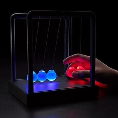 olcso Világító játékok-Kinetikus inga Newton bölcső egyensúly labdák Világítás ABS Felnőttek Játékok Ajándék
