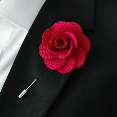 رخيصةأون ربطات العقدة-لون سادة رجالي - طبقات / أساسي حفلة