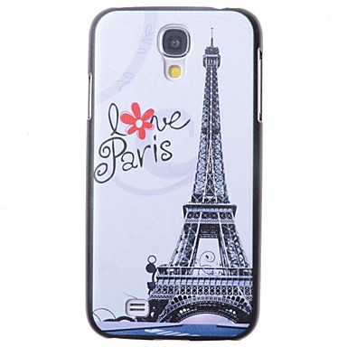 [$2 99] Cartoon Eiffel Tower Pattern Back Cover for Samsung Galaxy S4 I9500