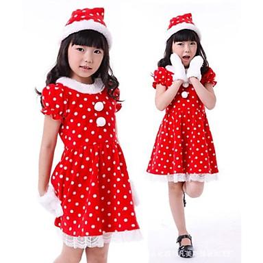 9a33fcacb0 kislány pöttyös ruha gyerekeknek karácsonyi jelmez 2425407 2019 – €35.99