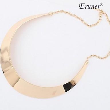 Pentru femei Coliere Choker Clasic femei Aliaj Argintiu Auriu Coliere Bijuterii Pentru Petrecere Zilnic
