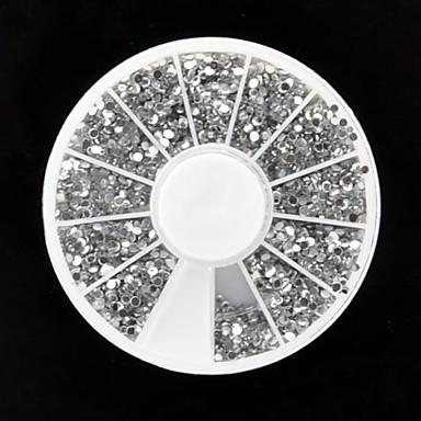 1 pcs Strălucire Nail Art Kit Bijuterie unghii Încântător nail art pedichiura si manichiura Zilnic Nuntă / Modă / Teracotă / Unghiul de bijuterii