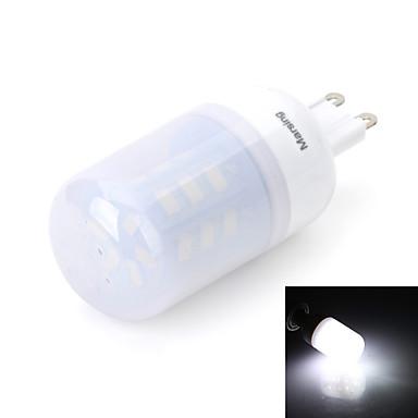 Becuri LED Corn 480 lm G9 T 24 LED-uri de margele SMD 5630 Alb Rece 220-240 V