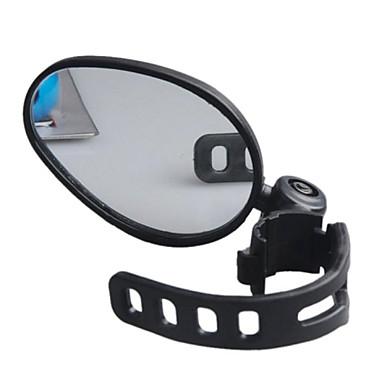 olcso Csengők, tükrök és zárak-Visszapillantó tükör Bar End Bike Tükör Állítható 360 fokos forgás Széles látószög Biztonság mert Treking bicikli Mountain bike Kerékpározás Műanyag Gumi Fekete