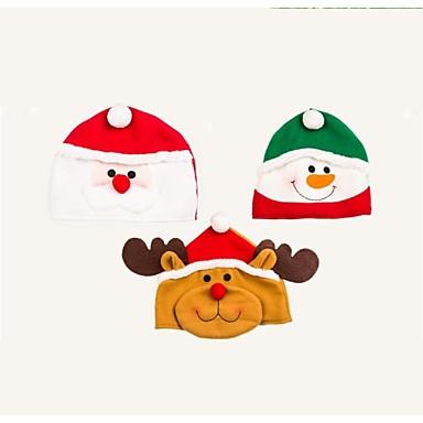 olcso Sapkák és fejfedők-gyönyörű kézzel készített rajzfilm karácsonyi kalap