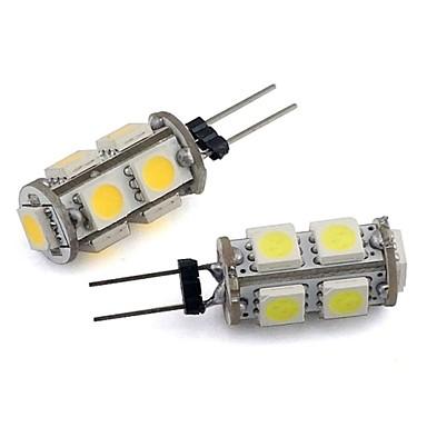 Becuri LED Corn 94 lm G4 9 LED-uri de margele SMD 5050 Decorativ Alb Cald Alb Rece 12 V
