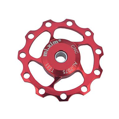 olcso Egyéb kerékpár kiegészítők-Bike Váltók Bike Guide Wheel Kerékpár Tartós Kompatibilitás Kerékpározás Treking bicikli Mountain bike Aluminum Alloy Piros Kék Aranyozott