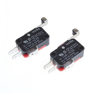 economico Componenti fai da te (DIY)-micro switch off-on per l'elettronica fai da te (2 pezzi)