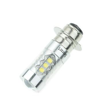 ieftine Becuri De Mașină LED-px15d T19 p15d-25-1 80W 16xcree rece 6500k 4500lm alb pentru lumina de frână motociclete (AC / DC12V-24)