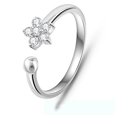απλό δαχτυλίδι 925 ασημένια ένθετο λουλούδι κορυφή ζιργκόν λευκό επίχρυσο δαχτυλίδι  δαχτυλίδι ζευγάρια (1 τεμ) 2663381 2019 – €21.99 bbbd2db5ccb