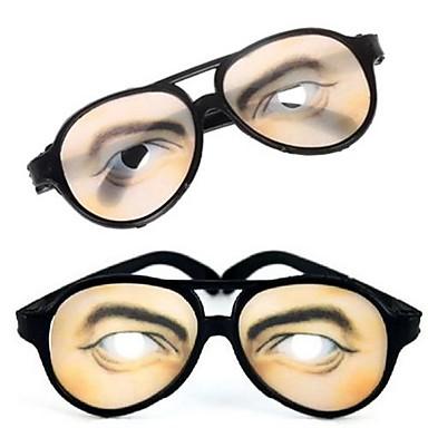 ieftine Rechizite Petrecere-1 pereche de imprimare bărbați ochi farsă ochelari amuzante pentru costum de Halloween partid (15.5x6cm)