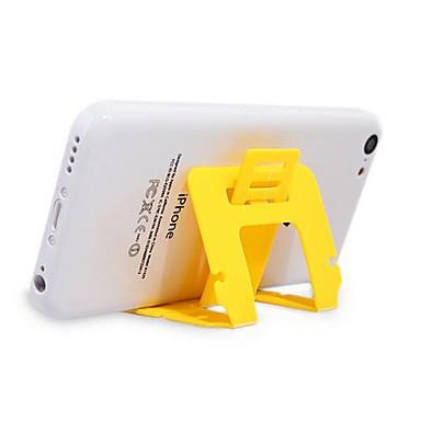olcso Telefontartó-Asztal Univerzális / Mobiltelefon Szerelje fel a tartóállványt Állítható állvány Univerzális / Mobiltelefon Műanyag Tartó