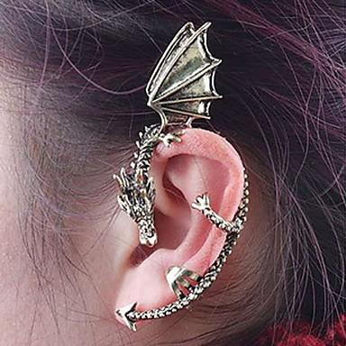 Pentru femei Cătușe pentru urechi femei Vintage Modă cercei Bijuterii Maro / Argintiu Pentru Zilnic