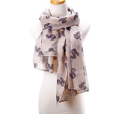 95d15feac37 veverka tisk Dámské šátky šátek velký size180   93cm měkké zábaly 2580835  2019 – €16.99