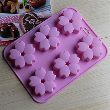 1 buc Silicon Ecologic Nuntă Tort Biscuiți Plăcintă coacere Mold Instrumente de coacere