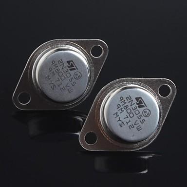 رخيصةأون الترانزستورات-ختم الذهب 2N3055 NPN الترانزستور إلى 3 (2PCS)