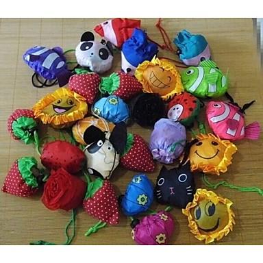 olcso Konyhai tárolás-gyümölcs, virág modellezés állat összecsukható bevásárlótáska