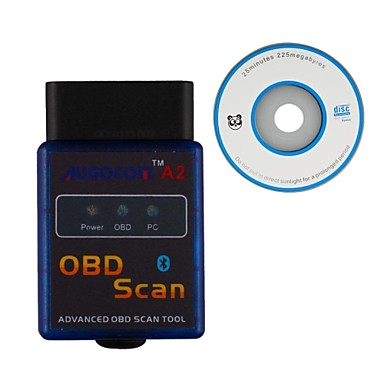 [$9 99] UGOCOM A2 ELM327 Vgate Scan Advanced OBD2 Bluetooth Scan  Tool(Support Android And Symbian) Software V2 1
