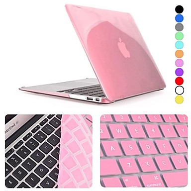 cheap Mac Cases & Mac Bags & Mac Sleeves-Combined Protection Slim / Novelty Polycarbonate for MacBook Air 13''