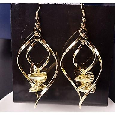Žene Viseće naušnice Pozlaćeni Naušnice Jewelry Za Vjenčanje Party Dnevno Kauzalni Sport