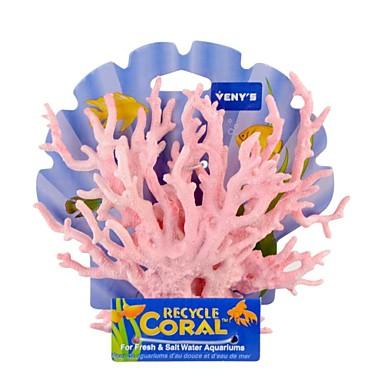 Недорогие Аксессуары для мелких животных-Аквариум Оформление аквариума Орнаменты Синий пластик