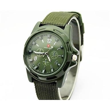 94a5aca3450 relógios relógio Swiss Army tecido pulseira de quartzo homens é legal  assistir relógio único de 2830850 2019 por €9.99