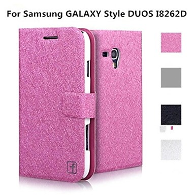 bc3cb611d73 Teléfono Móvil Samsung - Carcasas de Cuerpo Completo/Fundas con Soporte -  Color Sólido - para Samsung Galaxy I8262 Core ( Negro/Blanco/Rosa/Dorado ,  2748561 ...