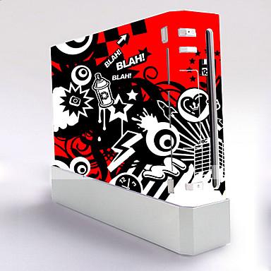 olcso Wii U táskák és tokok-B-SKIN Matrica Kompatibilitás Wii U / Wii ,  Újdonságok Matrica PVC 1 pcs egység