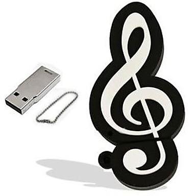 olcso USB pendrive-ok-1 GB USB hordozható tároló usb lemez USB 2.0 Műanyag Hangszerek Rajzfilmfigura