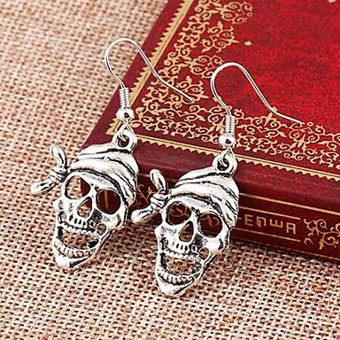 رخيصةأون أقراط-نسائي أقراط قطرة جمجمة Halloween تذكار موري الأقراط مجوهرات من أجل مناسب للبس اليومي
