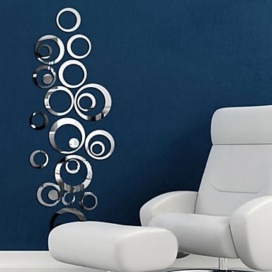 Decorative Wall Stickers Mirror Mirrors Living Room Bedroom Bathroom Kitchen Dining Study Office Boys 2801306 2019 3 14