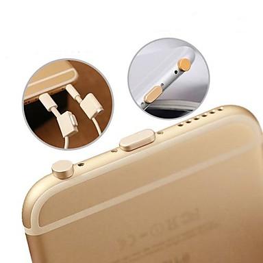 olcso Mobiltelefon amulettek-fülhallgató csatlakozó& töltőcsatlakozó pormentesítő dugaszkészlettel iPhone 6 / iphone 6 plusz / ipad AIR2 / ipad mini3