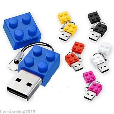 New Toy Bricks Cartoon 8GB USB disk USB 2.0 Flash Pen Drive ...